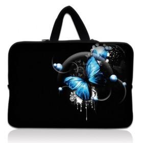 """Huado taška na notebook do 15.6"""" Modrý motýľ"""