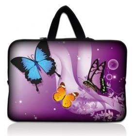 """Huado taška na notebook do 15.6"""" Motýle vo fialovej"""
