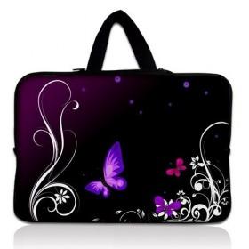 """Huado taška na notebook do 17.4"""" Purpurové motýle"""