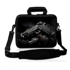 """Huado taška cez rameno do 17.4"""" Revolver 9 mm"""