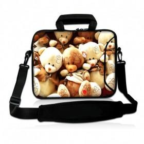 """Huado taška cez rameno do 17.4"""" Medvedíci"""