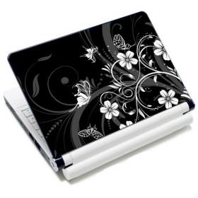 "Huado samolepka, skin na notebook 12""-15,6"" Kvetinky a motýle"