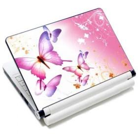 """Huado samolepka, skin na notebook 12""""-15,6"""" Ružové motýle"""